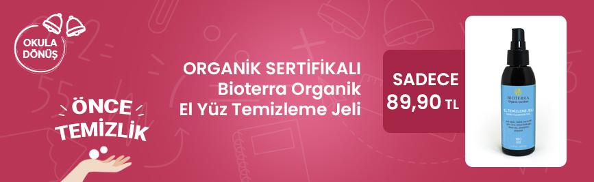 Bioterra Organik El Yüz Temizleme (Hijyen) Jeli 125 ml