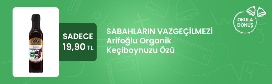 Arifoğlu Organik Keçiboynuzu Özü 250ml