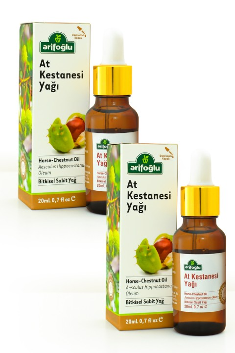Arifoğlu At Kestanesi Yağı 20 ml + 20ml 2'li Set