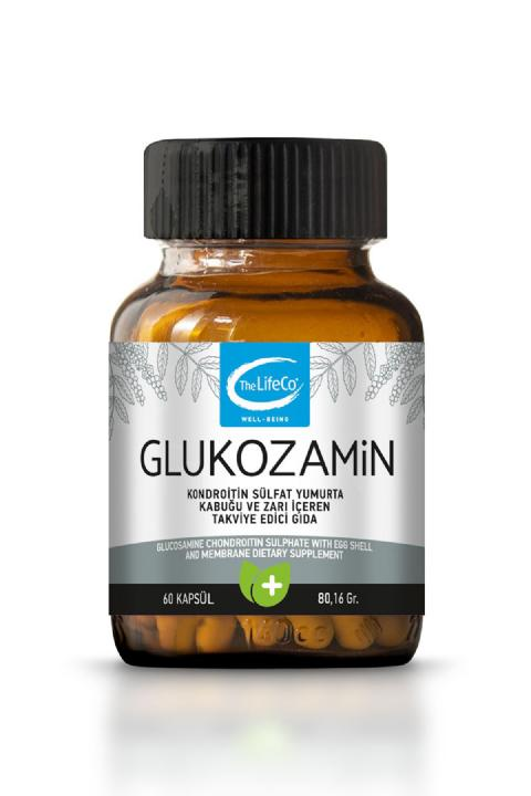 The Lifeco Glukozamin 60 Kapsül